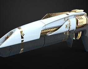 Midnight coup - Destiny 3D printable model gold