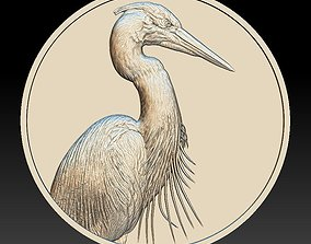 3D printable model Heron Coin -relief -2020