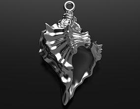 3D print model Sea shell pendant youth