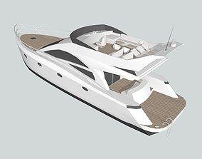 yacht 1 3D model