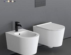 3D asset Alice Ceramica Form Wall-Hung WC