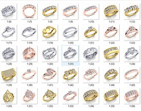 55 Luxury Design Collection Ring 3d Model And Render
