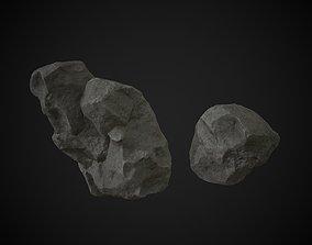 3D model Rocks Cliffs