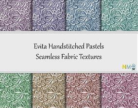 3D Evita Pastels Seamless Textures Set