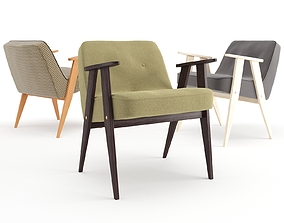 3D Chierowski 366 Chair