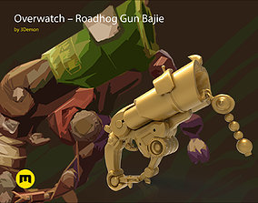 3D print model Overwatch Roadhog Gun Bajie