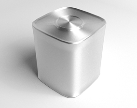 Tin Can - Box 3D model