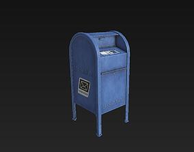 3D asset US Mailbox