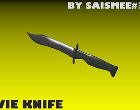 Bowie Knife 3D model
