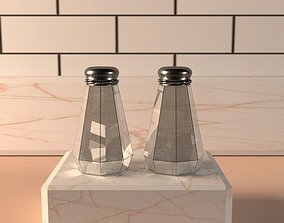 Salt and Pepper Shakers 3D