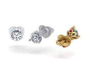 3D printable model Roberto Coin earrings