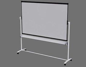 Whiteboard 1A 3D asset