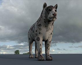 Tiger lion Grey model High Detailed 3D model game-ready