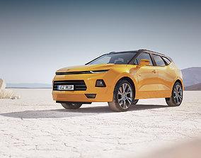3D model Luxury SUV unbranded