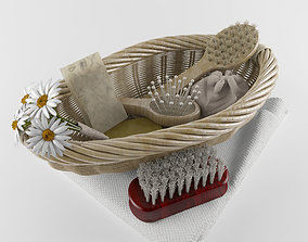 Bathroom natural accesories 3D