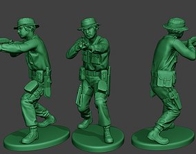 Modern Jungle Soldier Shoot Stand3 MJS1 3D printable model