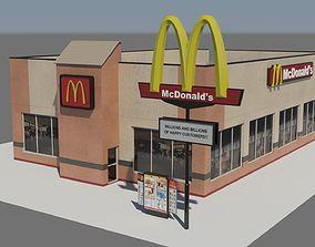 McDonalds Restaurant 3D model