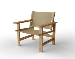 3D Canvas Chair