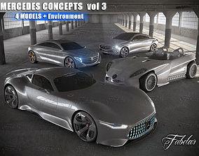 Mercedes Concepts vol 3 3D