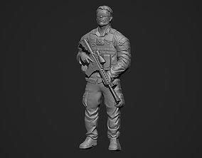 3D print model Soldier Bas Relief