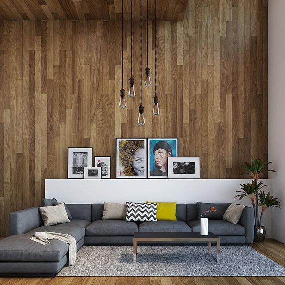 Contemporary Main Floor Interior Design