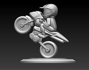 rider Rider Model for 3D Printing