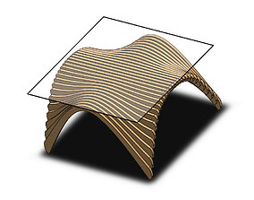 3D Parametric Office Table