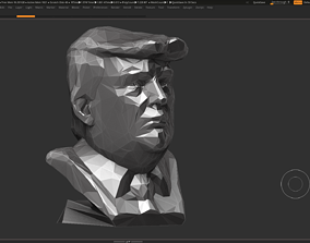 donaldtrump 3D print model Donald Trump bust