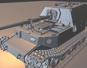 3D print model Ferdinand tanks