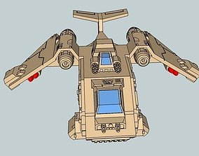 3D print model 6mm and 8mm Stormchicken Dropship