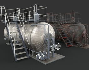 3D model Machinery device