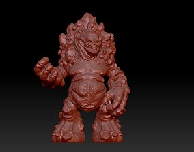 mosnter sculpture 3D printable model