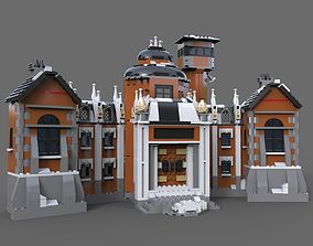 3D Lego house estate
