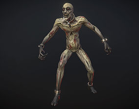 3D model Ghoul-zombie