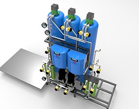 3D model osmosis reverse