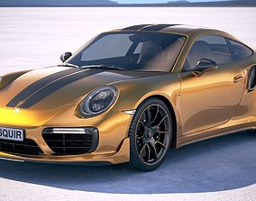Porsche 911 Turbo S Exclusive Series 3D model