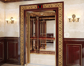 3D Classic mirror elevator