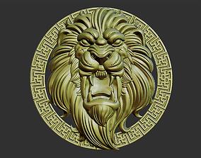 lion head decoration 3D printable model