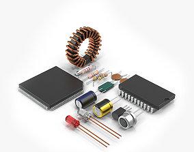Radio Components 3D