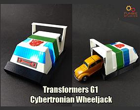 3D print model Transformers G1 Cybertronian Wheeljack
