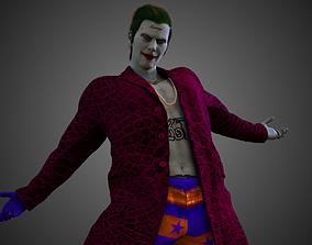 3D Joker Jared Leto Coat Version