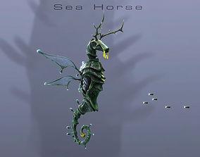 Sea Horse 3D asset