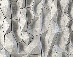 Panel decor polygon 3D model