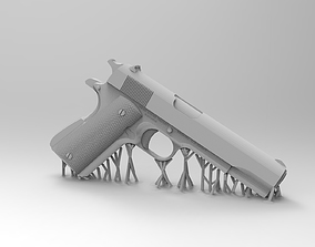 3D printable model Colt 1911