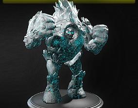 Ice Golem 3D model
