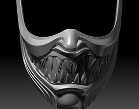 Scorpion Mask Hanzo Face Mortal Kombat 11 3D printable