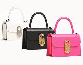 3D asset Christian Louboutin Elisa Top Handle Bag Small