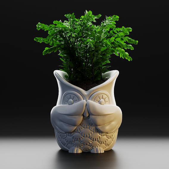 Vase Owl