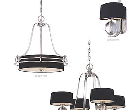 3D Chandeliers collection Gotham