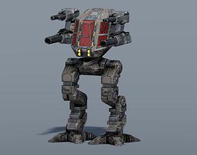 3D model Juggernaut BattleMech